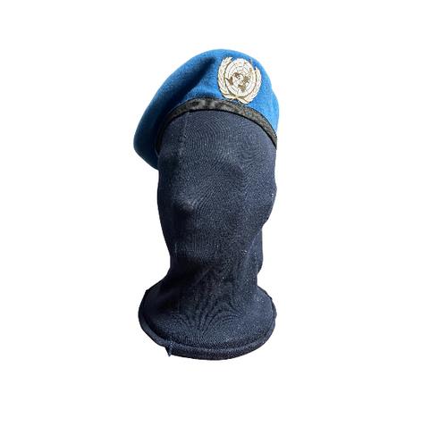 United Nations Peacekeeping Force Cap Hat w/ UN Badge