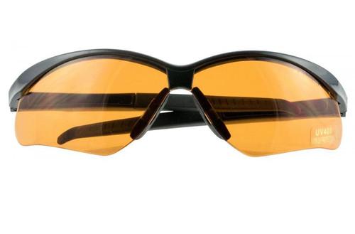 Crosshair Sport Shooting Glasses Amber