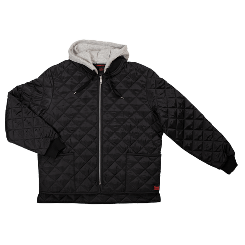 Hooded Quilted Freezer Jacket - 2 Pack