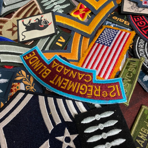 Assorted Military Patches Lot - 100 Pieces