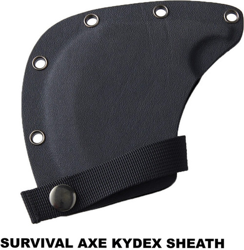 Survival Axe Sheath Kydex