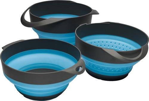 Flat Pack Bowls-n-Strainer Set
