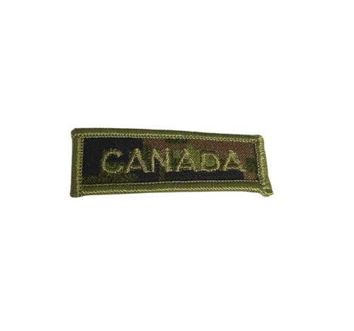 """Canada"" Canadian Digital Name Tape"
