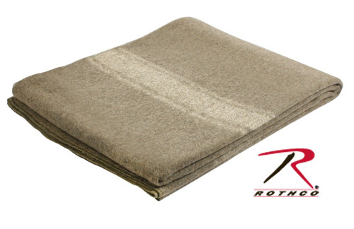 Wool European Surplus Style Blanket