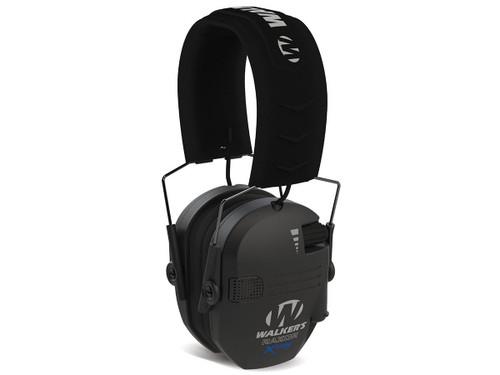 Walker's Razor X-TRM Ear Muffs w/ Cooling Pads (Color: Black)