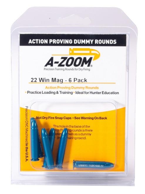 A-Zoom 22 WMR Action Dummy Rd 6/Pkg