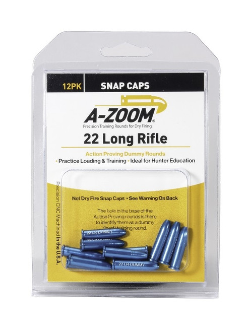 A-Zoom 22 RF Action Dummy Rounds 12/Pkg