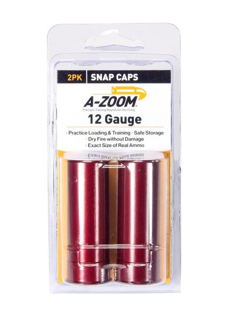 A-Zoom 12 Gauge Snap Caps 2/Pkg