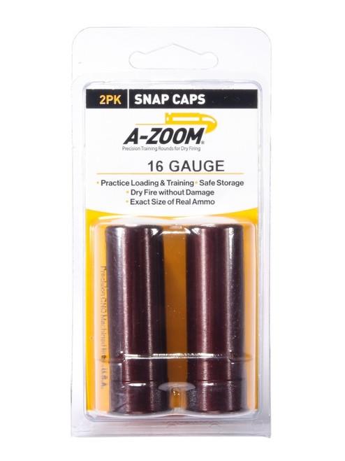 A-Zoom 16 GA Snap Caps 2/Pkg