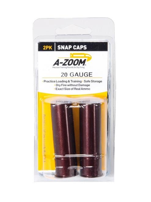 A-Zoom 20 GA Snap Caps 2/Pkg