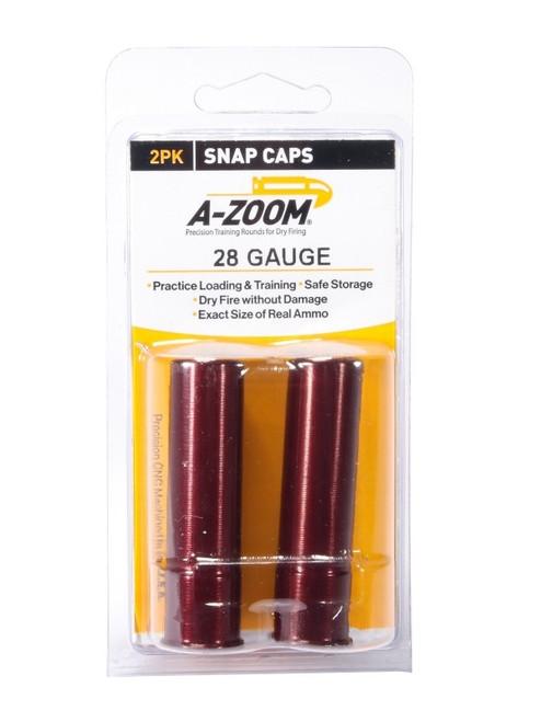 A-Zoom 28GA Snap Caps 2/Pkg