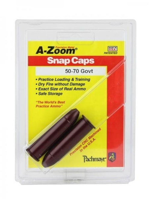 A-Zoom 50-70 Snap Caps 2/Pkg