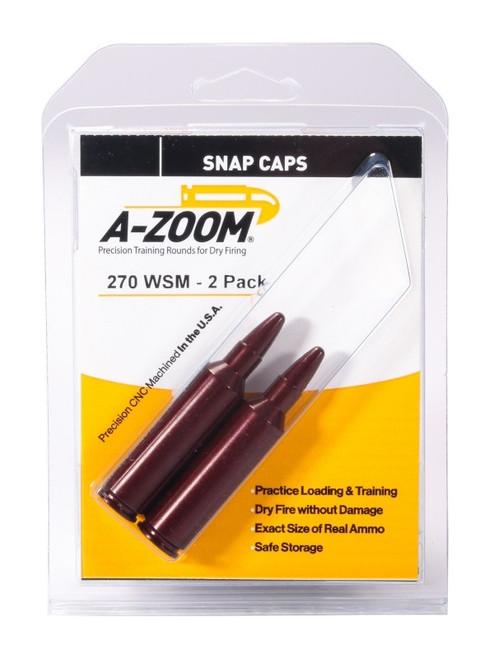 A-Zoom 270 WSM Snap Caps 2/Pkg