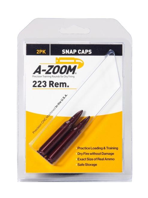 A-Zoom 223 REM Snap Caps 2/Pkg