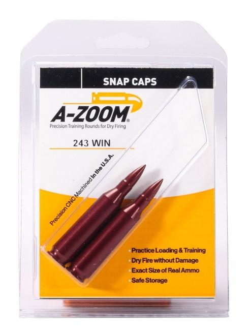 A-Zoom 243 Win Snap Caps 2/Pkg