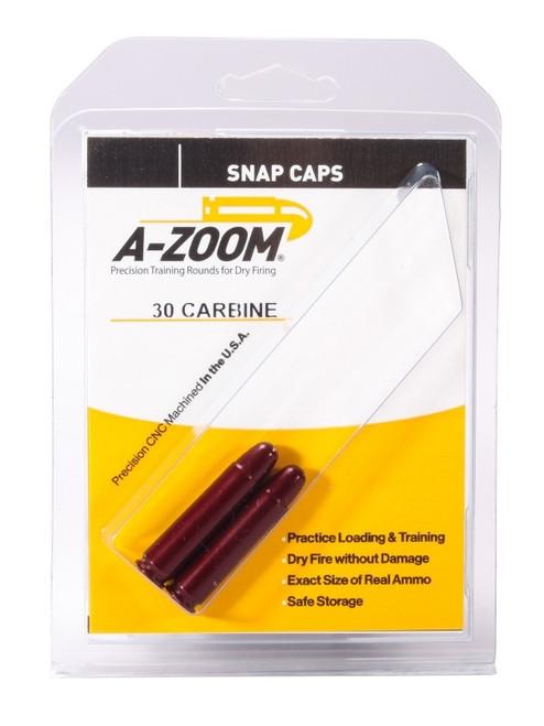 A-Zoom 30 Carbine Snap Caps 2/Pkg