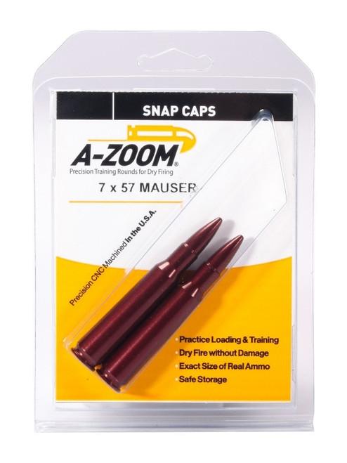 A-Zoom 7X57 Mau Snap Caps 2/Pkg