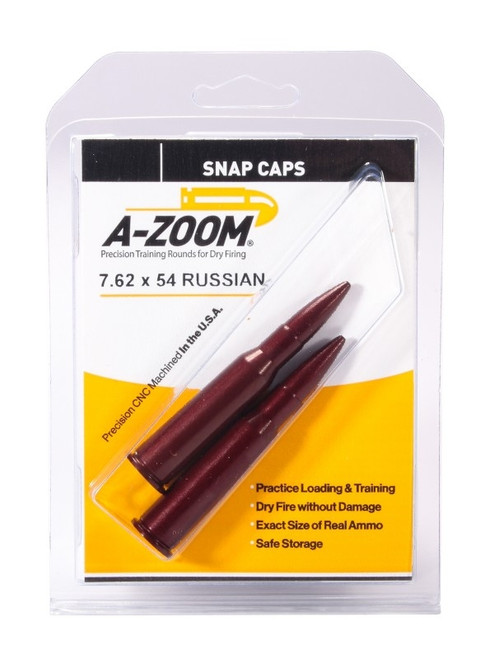 A-Zoom 7.62 X 54R Snap Caps 2/Pkg