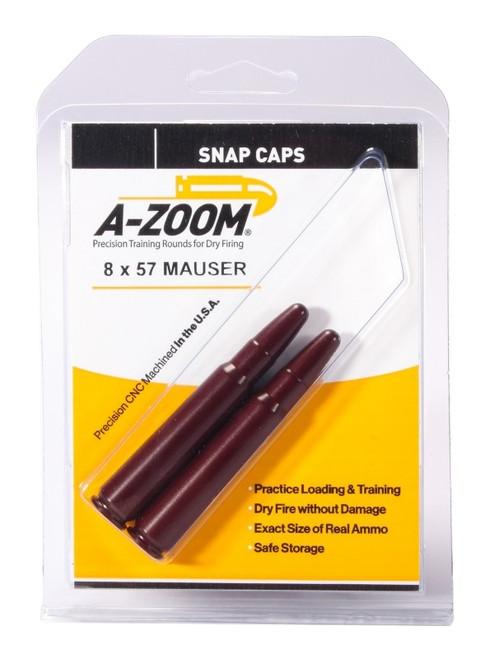 A-Zoom 8 X 57 Mauser Snap Caps 2/Pkg