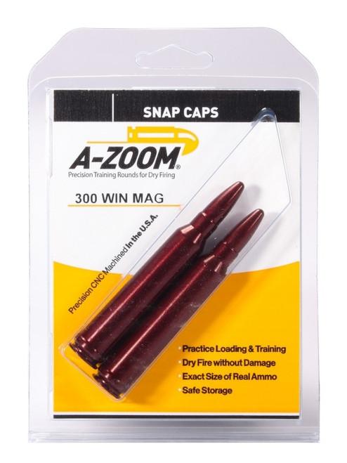 A-Zoom 300 Win Mag Snap Caps 2/Pkg