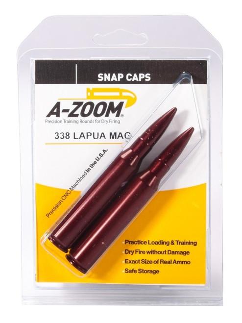 A-Zoom 338 Lapua Mag Snap Caps 2/Pkg