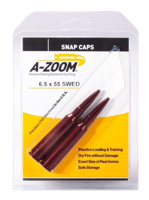 A-Zoom 6.5X55 Snap Caps 2/Pkg