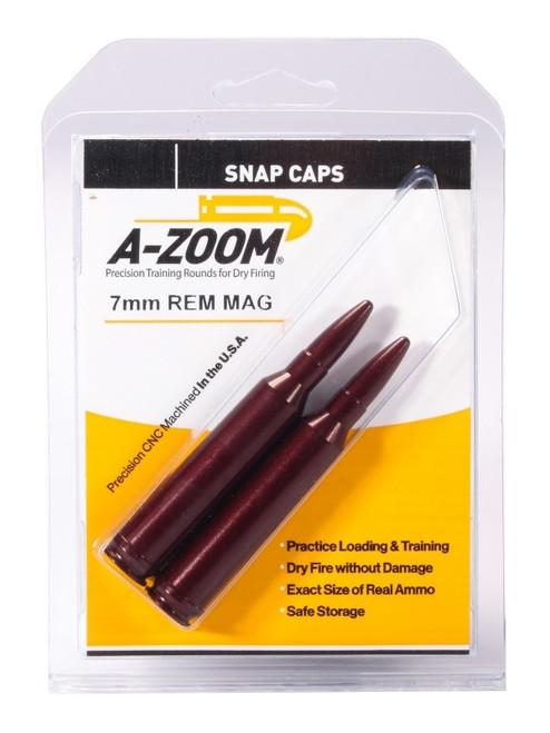 A-Zoom 7mm Rem Snap Caps 2/Pkg
