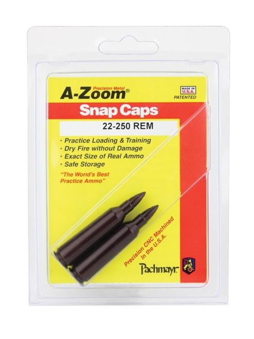 A-Zoom 22-250 Snap Caps 2/Pkg