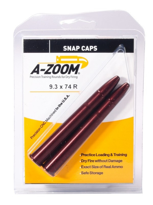 A-Zoom 9.3 X 74R Snap Caps 2/Pkg