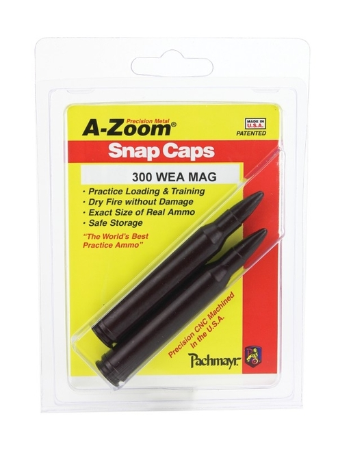 A-Zoom 300 WBY Mag Snap Caps 2/Pkg