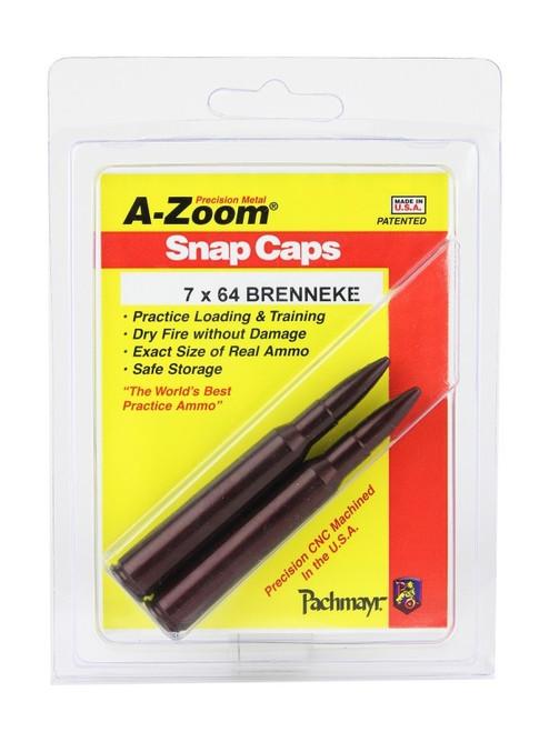 A-Zoom 7 X 64 Breneke Snap Caps 2/Pkg