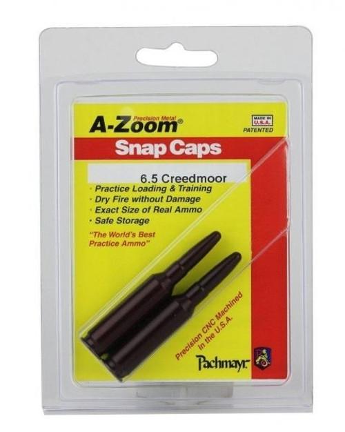 A-Zoom 6.5 Creedmoor Snap Caps 2/Pkg