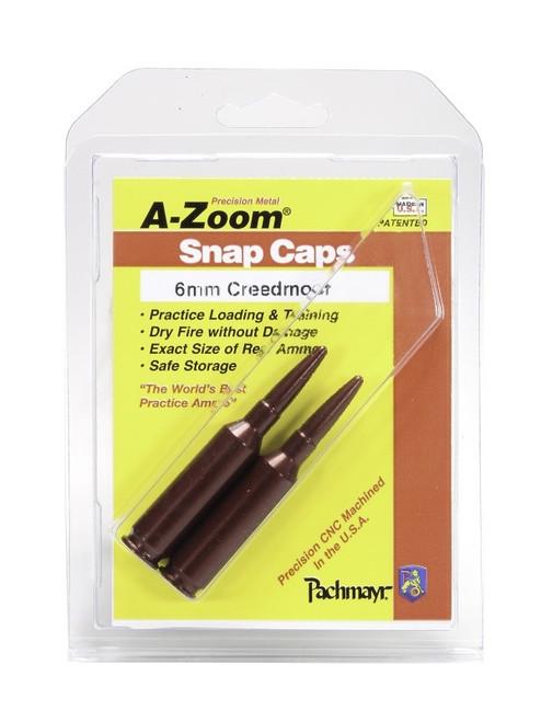 A-Zoom 6mm Creedmoor Snap Caps 2/Pk
