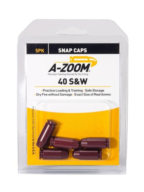 A-Zoom 40 S&W Snap Caps 5/Pkg