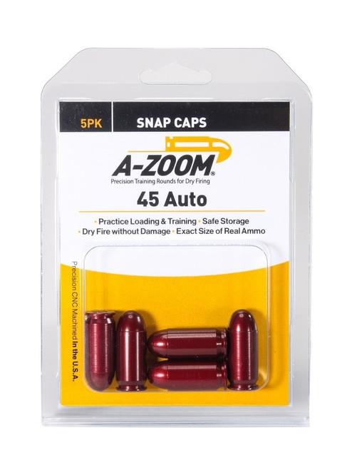 A-Zoom 45 ACP Snap Caps 5/Pkg