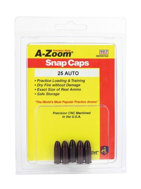 A-Zoom 25 Auto Snap Caps 5/Pkg