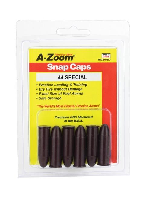 A-Zoom 44 Mag Snap Caps 6/Pkg
