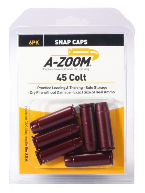 A-Zoom 45 Colt Snap Caps 6/Pkg