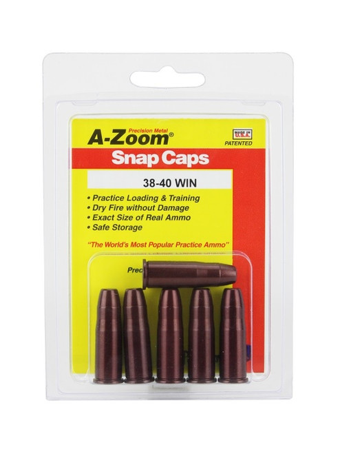 A-Zoom 38-40 Win Snap Caps 5/Pkg