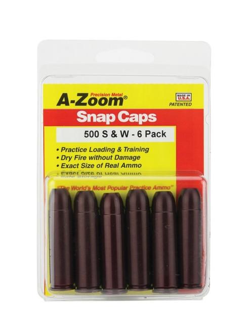 A-Zoom 500 S&W Snap Caps 5/Pkg