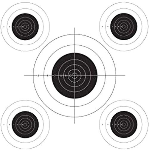 Auto Advance Bullseye Target Roll 50FT