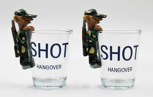Hangover Shot Glass Set