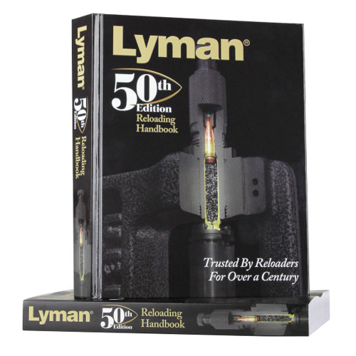 Lyman 50Th Edition Hardcover Reloading Handbook