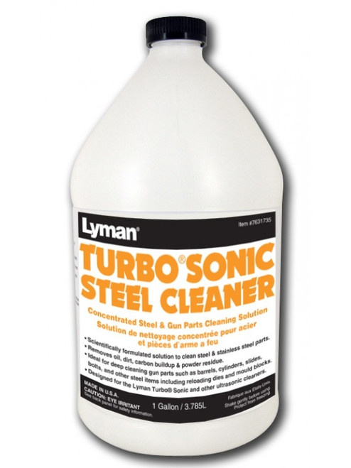 Turbo Sonic Gun Parts Cleaner Concentrate 1 Gallon