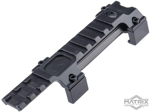 Matrix Low Profile Claw Optic Mount for MP5 Series Airsoft SMG