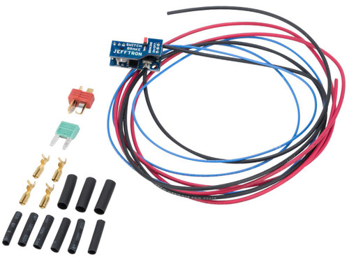 JeffTron Switch Brake for Airsoft AEGs (Model: With Wiring)