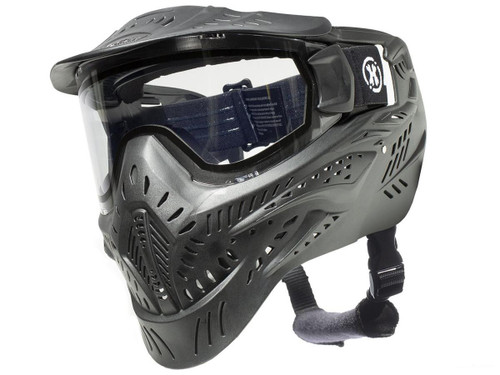 HK Army HSTL Full Face Mask with Thermal Goggle Lens (Color: Black)