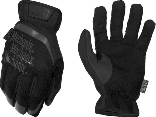 Mechanix Wear FastFit Tactical Touch Screen Gloves (Color: Black)