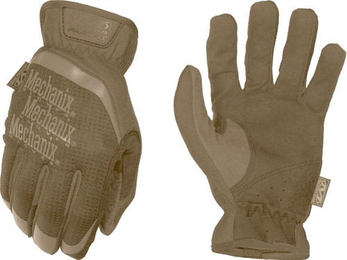 Mechanix Wear FastFit Tactical Touch Screen Gloves (Color: Coyote)