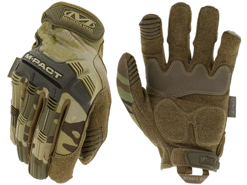 Mechanix M-Pact Tactical Gloves (Color: Multicam)